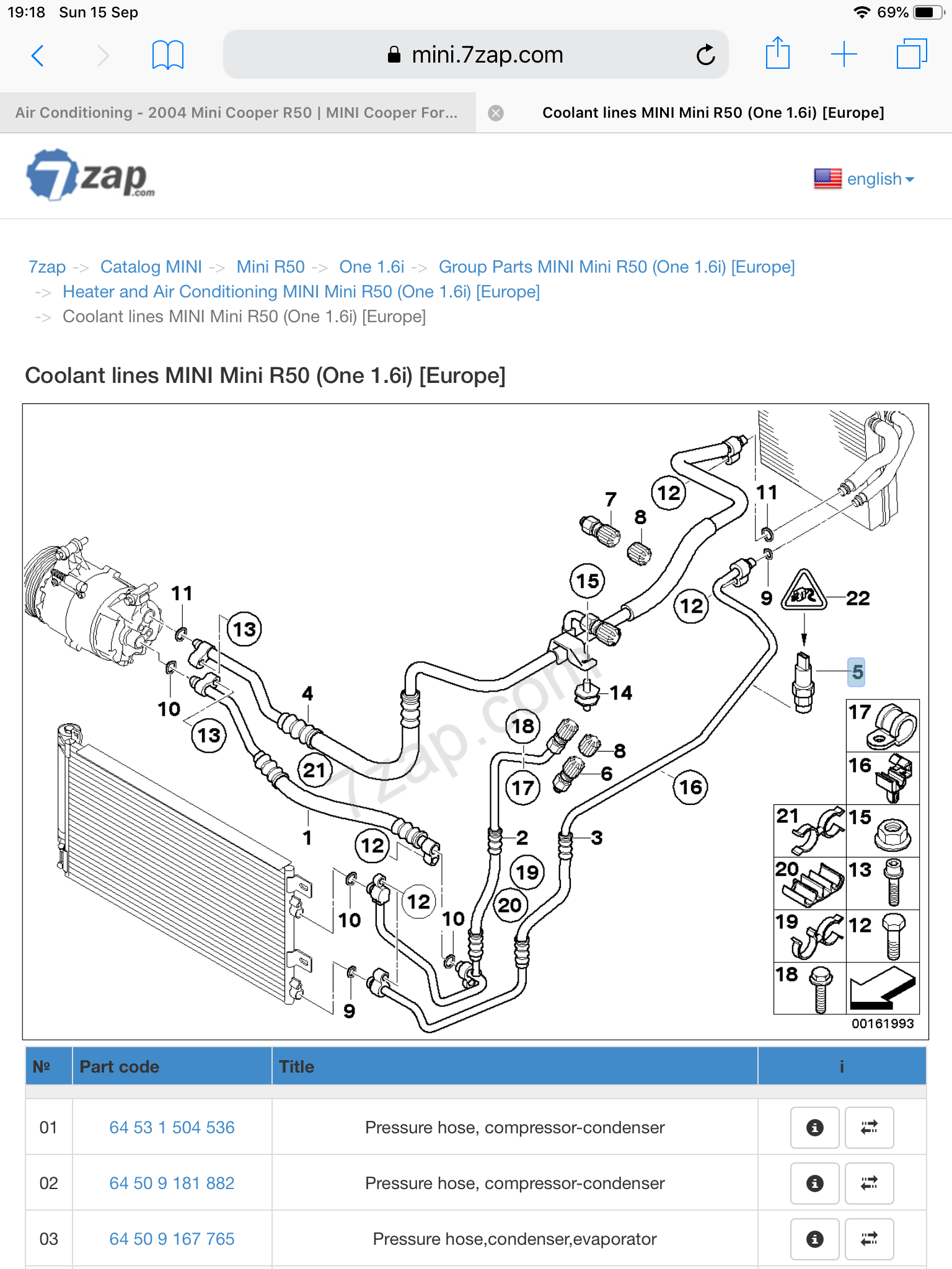 Air Conditioning - 2004 Mini Cooper R50 | MINI Cooper ForumMINI Cooper Forum