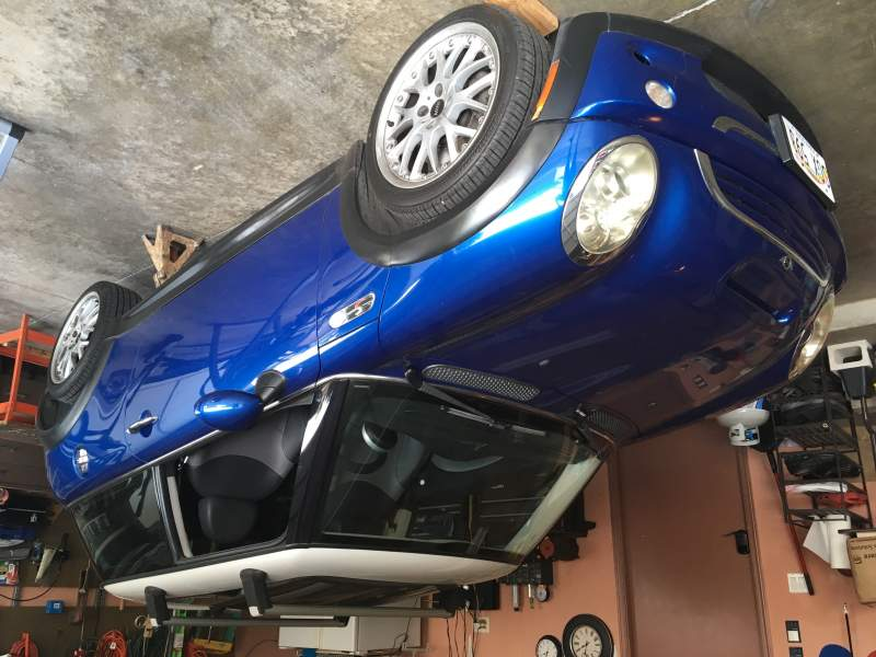 Chasing Clunking sound in rear suspension | MINI Cooper Forum