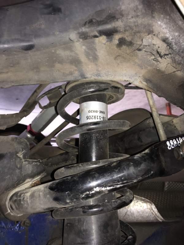 Chasing Clunking sound in rear suspension | MINI Cooper Forum