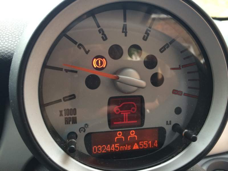 Can Anyone Tell Me What These Warning Lights Are Please Mini