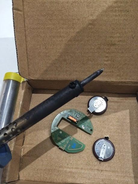 R55/R56 Key Fob rechargeable battery FIX | MINI Cooper Forum