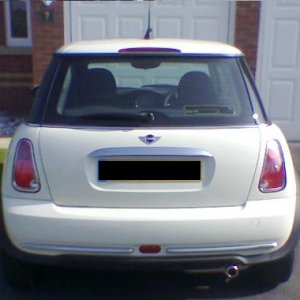 Rear Mini One 2005 Facelift PW