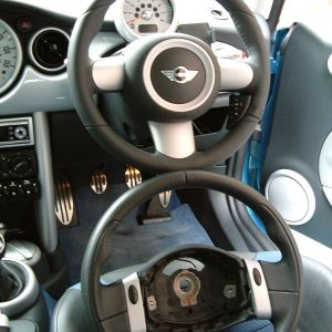 My new JCW steering wheel