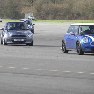Track Action at Top Gear