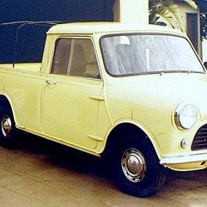 1983 bought a 1962 Mini Pickup