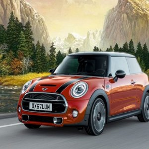 2021 Mini Cooper  driving in Mountains.jpg